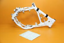 1999 99-01 CR80R CR80RB OEM Main Frame Chassis Cradle ROSS WHITE Clean T*Tl