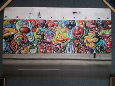 KENNY SCHARF Original Exhibition Poster (Limited Edition of 50) Keith Haring