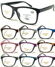 R140 High Quality Big Lens Simple Plain Plastic Reading Glasses/Comfort Designed