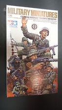 1/35 Tamiya German military WW2 WWII assault troops infantry 8 figure set