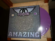 "AEROSMITH Amazing - 12"" Single PURPLE VINYL - new & unplayed"