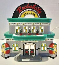 New ListingDepartment 56 The Original Snow Village Rockabilly Records Handpainted Ceramic