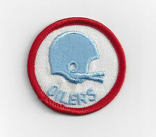 """1970's Houston Oilers patch old 2 bar helmet logo 2"""" patch"""