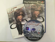 PLAYSTATION 2 PS2 GAME B.SOKAL SYBERIA II / 2 +BOX & INSTRUCTIONS COMPLETE PAL