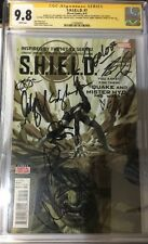 SHIELD #7 CGC 9.8 SIGNED X11 BENNET *QUAKE* DE CAESTECKER GREGG BLOOD DALTON