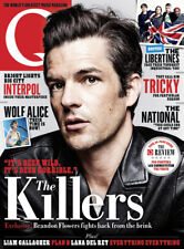 Q Magazine Killers Brandon Flowers Wolf Alice National Libertines Lana Del Rey