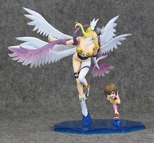 Figura Digital Yagami Hikari and Angewomon with little girl Figure Digimon doll