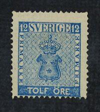 CKStamps: Sweden Stamps Collection Scott#8 Mint H OG