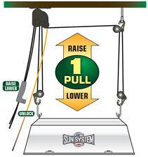 Sun System Level Lift Hook Hanger System For Led Hps Cmh Grow Light Fixture