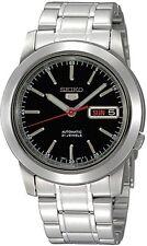 SEIKO Automatic SNKE53 SNKE53K1 Mens See Through Black Dial Steel Watch