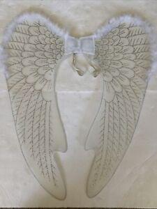 Large Angel Wings - White