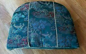 Vintage Chinese silk brocade tea cosy - unused