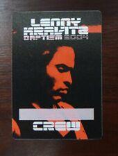 Lenny Kravitz Daptism 2004 VIP Crew Pass - unbenutzt