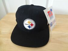Vintage NFL Pittsburgh Steelers Fitted Size 7 Hat 90s Sports Specialties NEW NWT