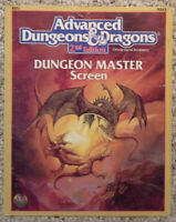 REF1 - Dungeon Master's Screen (w/ module) - Adv Dungeons & Dragons -AD&D TSR #2