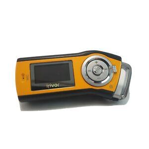 T-10 IRIVER MP3 Player Yellow/Orange 1GB Digital media player Voice Recorder