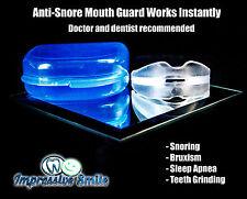 Stop Snoring Mouthpiece Apnea Aid Sleep Anti Snore Bruxism Grind MouthGuard