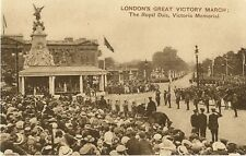 LONDON GREAT VICTORY MARCH WORLD WAR ONE CELEBRATIONS ROYAL DIAS