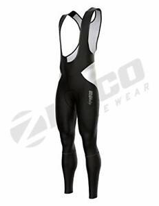 Zimco Men's Padded Thermal Cycling Bibs Tight Cycling Bibs Long Pants