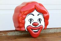 Vintage Ronald McDonald Head McDonalds Playground Plastic Rare