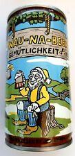 1978 Volksfest Waunakee Wisconsin WAU-NA-BEER Gemutlichkeit! Can