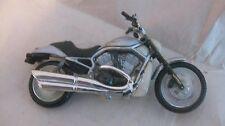 Maisto Moto en un Plata Pequeño Escala Coleccionable Plástico Ciclo dc979
