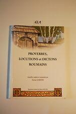 EL1 Livre - Proverbes, locutions et dictons Roumains