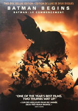 Batman Begins (Dvd, 2005, 2-Disc Set, Widescreen, Bilingual cover: Engli - Good