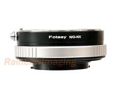 Nikon G AFS Lens to Samsung  NX2000 NX1000 NX210 NX200 Adapter Aperture Control
