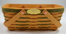 Longaberger 2001 Woven Memories Basket Metal Plate Collectible Home Decor