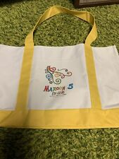 maroon 5 tote bag cd red pill blues and tag