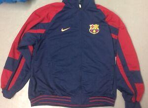 FC Barcelona Futbol Club Jacket XL FCB F.C.B. Soccer Spain