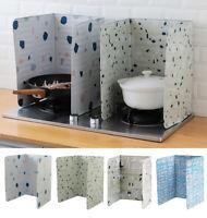 Kitchen Heat Insulation Aluminium Foil Oil Cooking Utensils Grease  Baffle BJ