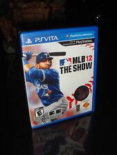 MLB 12: The Show (Sony PlayStation Vita, 2012) NEW
