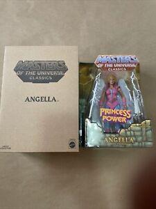 MOTUC Masters Of The Universe Classics ANGELLA MIB Matty Collector POP