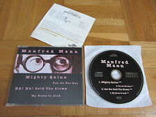 MANFRED MANN Greatest Hits Sampler 1993 GERMANY collectors CD single