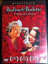 PAULINE AND PAULETTE ~ 2001 Dutch / Netherlands / Holland Drama | UK DVD