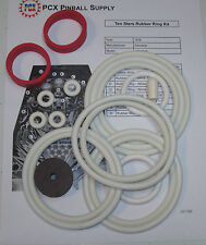 1976 Zaccaria Ten Stars Pinball Machine Rubber Ring Kit
