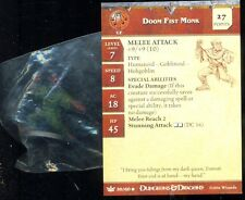 WOTC D&D MINIATURES WAR OF THE DRAGON QUEEN 30 COMMON PROMO DOOM  FIST MONK