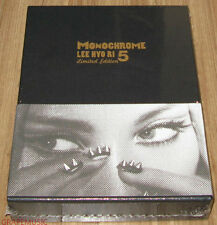 LEE HYO RI Monochrome MISS.KOREA BAD GIRL LIMITED EDITION K-POP CD + POSTER NEW