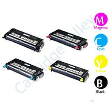 Compatible  Xerox Phaser 6280 High Yield Toner Cartridge Set B C Y M