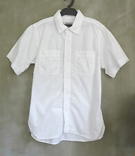 OMNIGOD Japan Made Nigel The Men Dry Cotton Flat Head Cabourn White Shirt S
