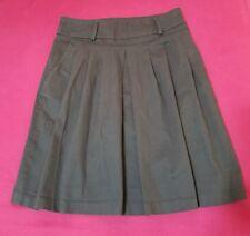Zara Basic Woman Skirt Size Small Brown w Pockets/Belt Loops
