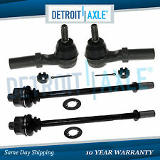 4pc Front Inner Outer Tie Rod End for Chevy Silverado GMC Sierra 2500 3500 HD