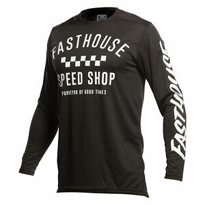Fasthouse Carbon Mens Jersey Mx - Black All Sizes