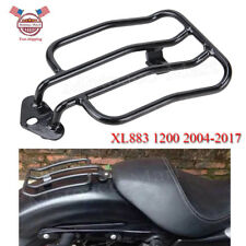 Solo Seat Luggage Rack For Harley Davidson Sportster XL883 1200 04-2016 2010 08
