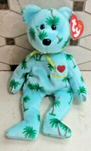 Ty Beanie Baby Hawaii Achieved Statehood August 21, 1959 MWMT Free Shipping