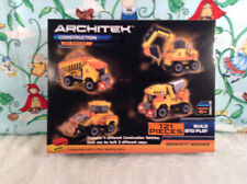 Architek Construction Builing Toy 121 Pieces Build & Play Ages 6 + New