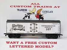 Ho Custom Lettered Fitchburg R.R. Boxcar Reefer Lot B