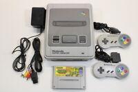 Nintendo Super Famicom Console Turtles in TIme SFC Import US Seller K1441